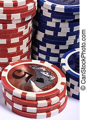 geluksspelletjes, casino spaanders