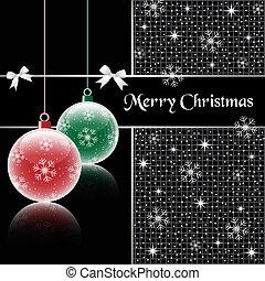 gelul, black , kerstmis
