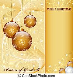 gelul, kerst decoraties