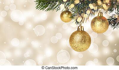 gelul, kerstmis, hangend