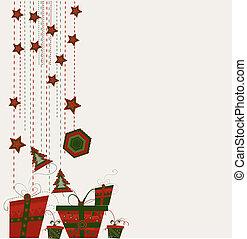 gelul, kerstmis kaart
