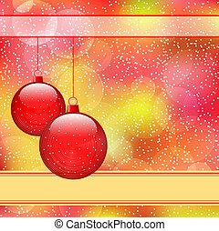 gelul, kerstmis, rood