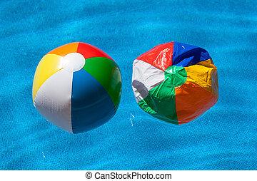 gelul, twee, kleurrijke