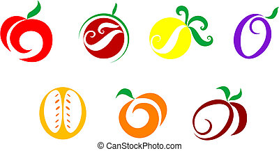 gemüse, früchte, heiligenbilder