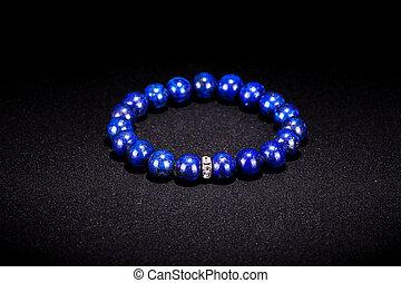Gem bracelet - Blue gems bracelet