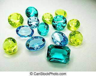 gem crystals sapphire diamons jewel  - gem stones sapphire ...