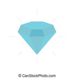 gem flat icon
