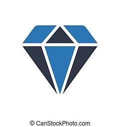 gem  thin line icon