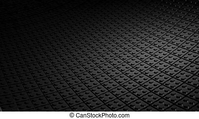 gemaakt, blokjes, lego, zwarte achtergrond, minimaal, 3d