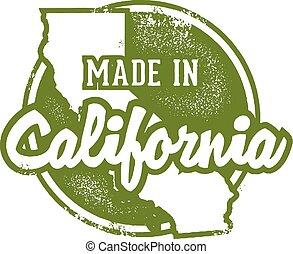 gemaakt, californië, usa