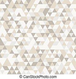 gemaakt, driehoek, elements., abstract, seamless, achtergrond