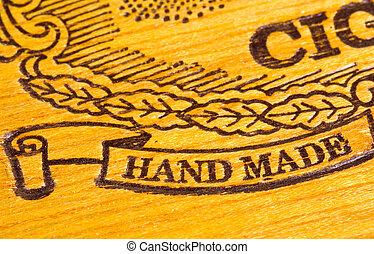 gemaakt, hand