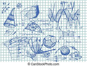 gemakkelijk, wiskunde, symbolen
