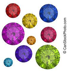 gemas, colecciones