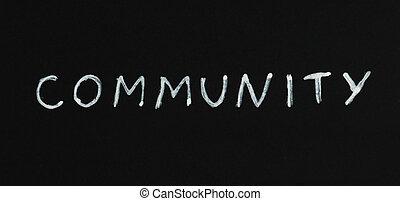 gemeenschap, tekst, ontvangenis
