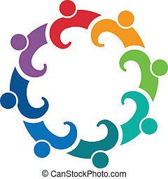 Gemeinschaftsarbeit, Leute, Gruppe, Versammlung,  8