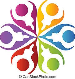 gemeinschaftsarbeit, logo
