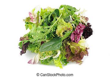 gemengde groene salade