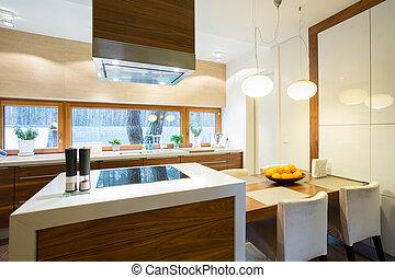 gemeubileerd, cozy, keuken