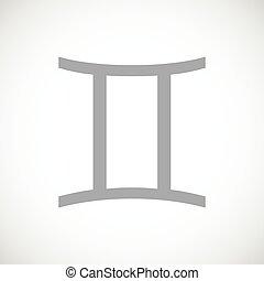 Gemini black icon