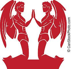 Gemini Zodiac/Horoscope Symbol