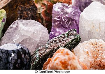 gemme, semi-precious, closeup