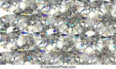 gemmes, slowmo, diamants, disperser, ou