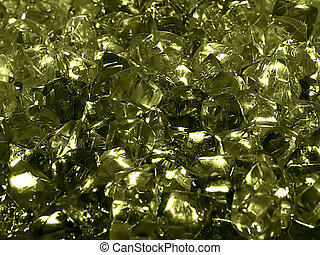 gems background - collection of shinny precious stones
