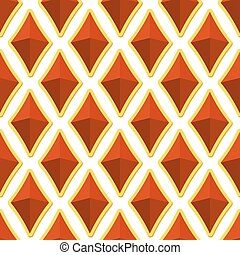 Gems seamless pattern. Vector illustration for jewellers