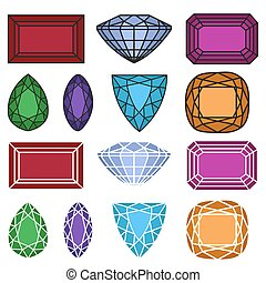 jewelry gemstones set