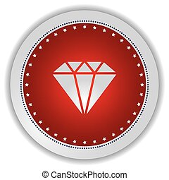 gemstone icon button