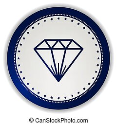 gemstone icon button
