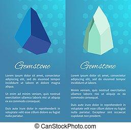 Gemstone Posters Precious Stones Minerals Crystals