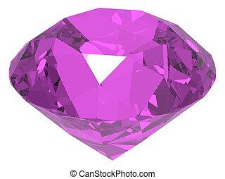 gemstone vector illustration