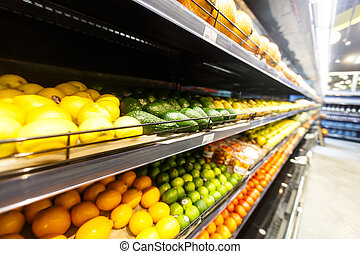 gemuese, supermarket.