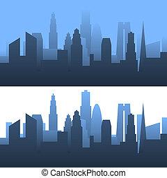 genérico, cityscape