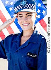 gendarme, femme