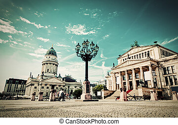 gendarmenmarkt, alemania, berlín