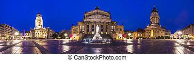 gendarmenmarkt, berlin, quadrat