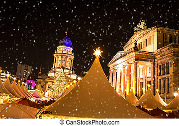 gendarmenmarkt berlin weihnachten kuppel franzoesisch. Black Bedroom Furniture Sets. Home Design Ideas