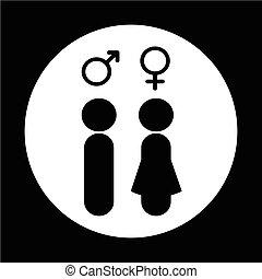 Gender people icon