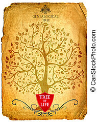 tree of life - genealogical tree of life, parent, parenting,...