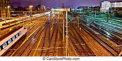 genebra, trainyard