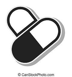 geneeskunde, capsule, ontwerp, pillen, apotheek