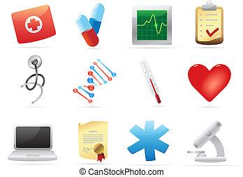 geneeskunde, iconen