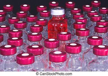 geneeskunde, vials