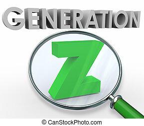 generación, buscando, juventud, vidrio, palabras,...