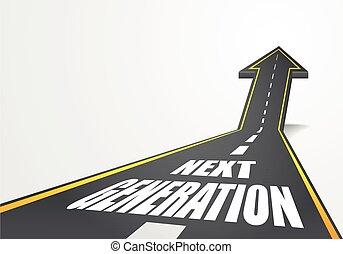 generación, camino, luego