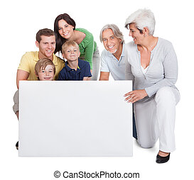 generaciones, familia , feliz