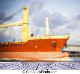General cargo ship